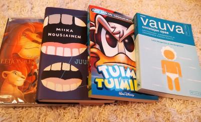 Luettavaa ja Disney -klassikko